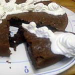 recette Fondant aux deux chocolat