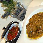 recette tajine de jarret de veau aux marrons confits