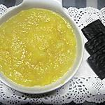 recette Compote de pommes et oranges au miel.