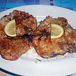 recette COTES  DE  PORC  EN  CROUTE  D'HERBES  AROMATIQUES