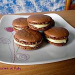 recette Macarons au chocolat blanc et fève Tonka