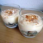 recette Verrines légères poire et spéculos