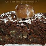 recette Fondant aux marrons et chocolat noir, sans gluten et sans lactose