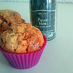 recette MUFFINS CHORIZO-PAVOT (idéal pour un apéritif)