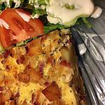 recette Quiche aux  pommes de terre et saucisson de dinde fumé