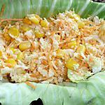 recette Salade coleslaw et maïs