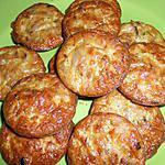 recette Bouchées au thon