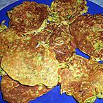 recette galettes de courgettes