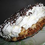Banoffee pie ou tarte banane caramel chantilly