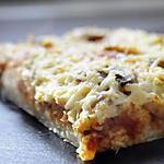recette Pizza Al Taglio Champignon