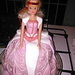 recette Gâteau princesse Barbie 6ans lindsay