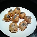 recette mini hamburgers saumon fumé et crème citronnée