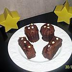 recette cannelé et les bars gourmandes choco-guimauve