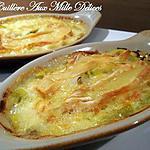recette Gratin de poireaux au reblochon