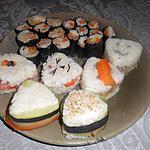recette Maki et onigiri