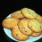 cookies aux pépites de chocolat et poudre d'amande