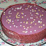 recette Gâteau au yaourt et aux mûres