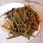 recette Haricots vert à l'italienne