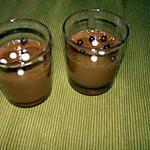 recette verrines de mousse à la pralinoise