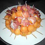 recette melon jambon de bayonne