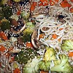 recette Nouilles ramen aux légumes