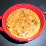 recette Petits flans de carottes et champignons