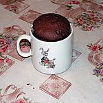 recette mugcake au chocolat