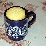 recette Mugcake à la vanille