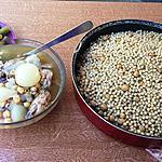 recette Petits plombs au poulet et oignons grelots