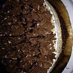 recette Entremet praliner deux chocolat noir et blanc