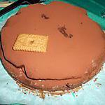 recette Gâteau chocolat spéculoos