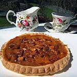 recette Tarte au sirop d'érable/Golden Syrup et amandes