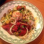 recette Médaillons de plie cynoglosse aux moules, sauce tomate - estragon