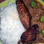 recette Sauce d'aileron au riz