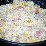 recette risotto aux courgettes et bacon