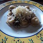 recette raviolis de poulet sauce champignon