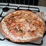 recette Pizza saumon
