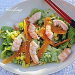 recette Salade de crevettes aux saveurs asiatiques