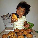 recette Muffin aux pépites de chocolat