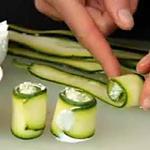recette makis de courgette au surimi