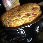 recette Soufflé à la floraline et jambon