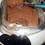 recette Financier chocolat-noisette express au micro onde