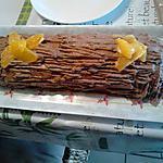 recette roulé au chocolat /orange et rhum
