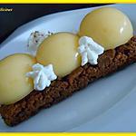 recette tarte citron speculoos revisitée