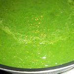 recette Soupe aux poireaux et épinards