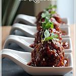 recette ~Boulettes à l'asiatique~