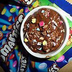 Nutella maison au smarties