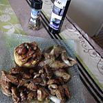 recette filet de poulet endives champignons, sauce aigre douce;;recette revisitée du blog  croquant    fondant gourmand