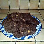 recette Cookies tout choco aux chunks 3 chocolts