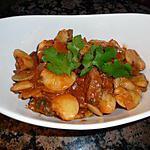recette Gros haricots blancs à la coriandre